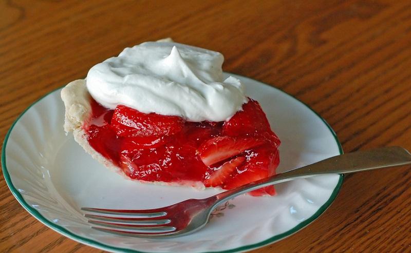 French Strawberry Pie picture