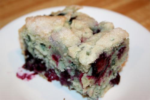 Fresh Blueberry Cake picture