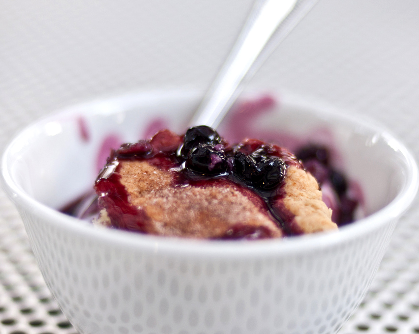 Fresh Blueberry Cobbler picture