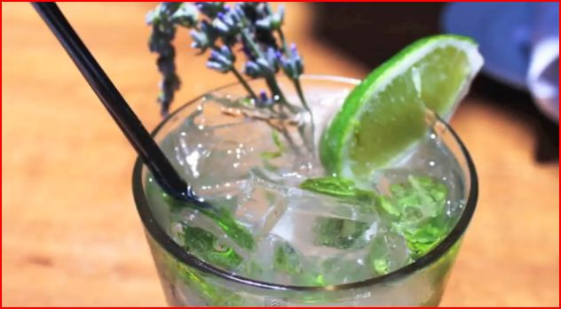 Fresh Lavender Mojito picture