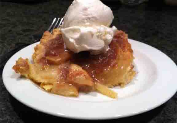 Fresh Peach Kuchen picture