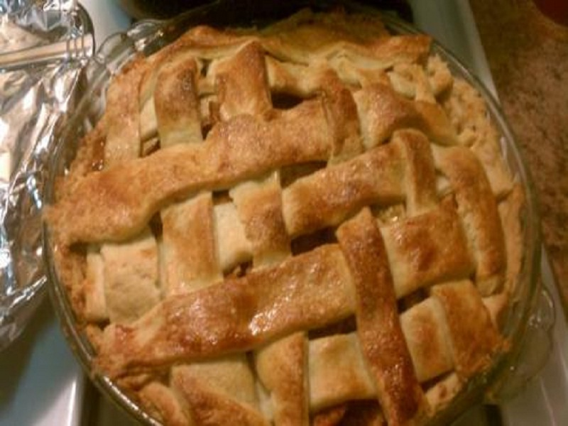 Fresh Peach Pie    picture