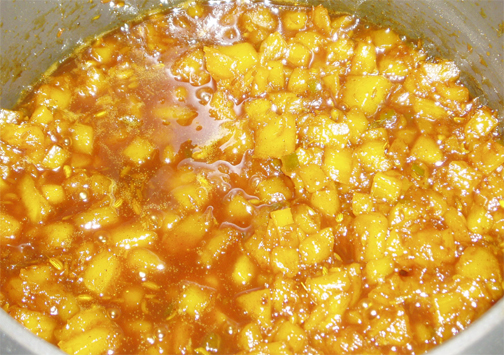 Fresh Pineapple Chutney picture