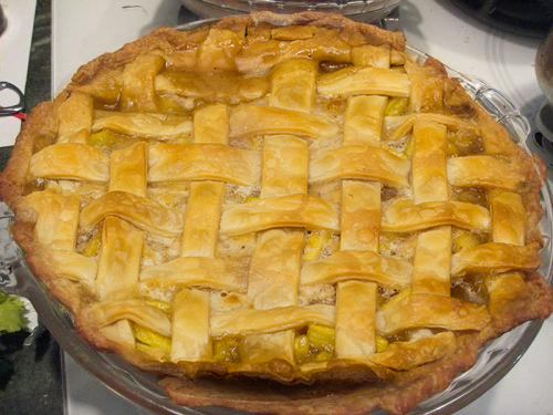 Fresh Pineapple Pie picture