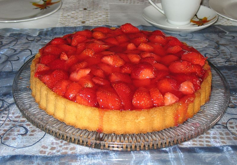 Fresh Strawberry Pie picture