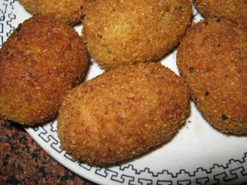 Fried Bheja Na Cutlets picture