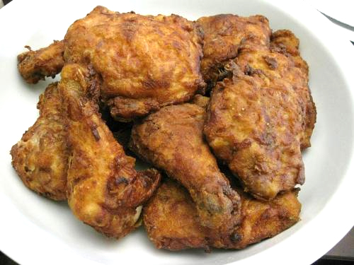 Fried Chicken with Herbs picture