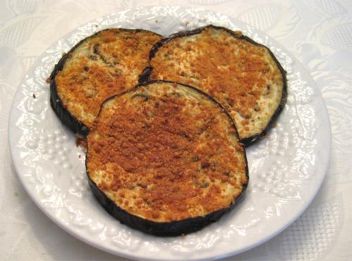 Breaded Eggplant Slices picture