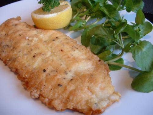 Fried Plaice With Lemon picture