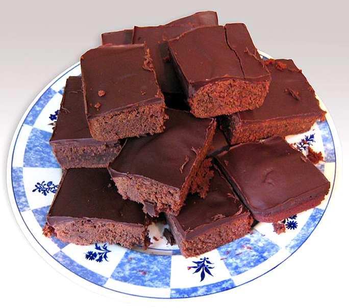 Frosted Cocoa Brownies picture