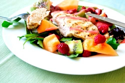 Fruit Garland Roast Chicken picture