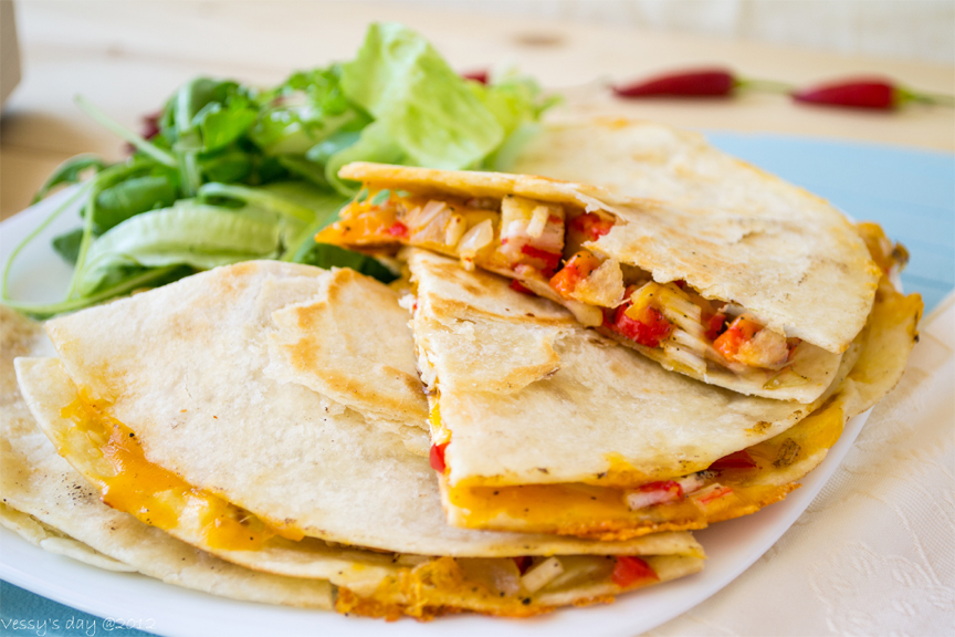 Garden Quesadilla picture