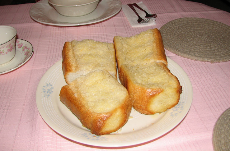 French Bread With Garlic Spread picture