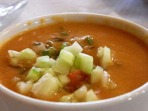 Make ahead Gazpacho picture
