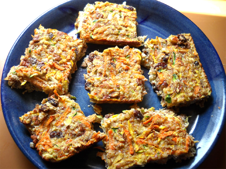 Ginger Carrot Bars picture