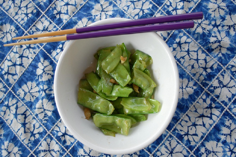 Ginger Flavored Snow Peas picture