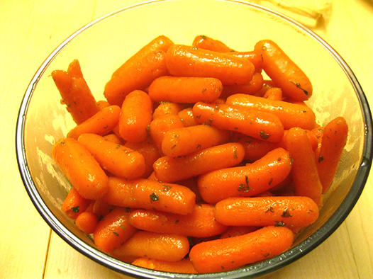 Ginger Glazed Carrots picture
