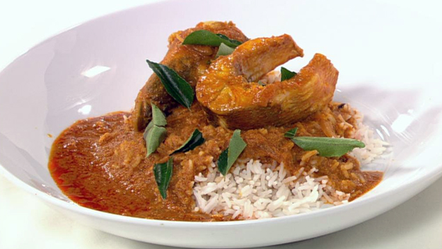 Goan Pomfret Fish Curry picture