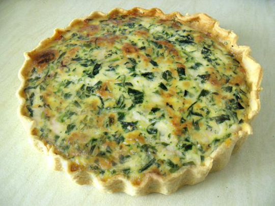 Goat's Cheese Quiche picture