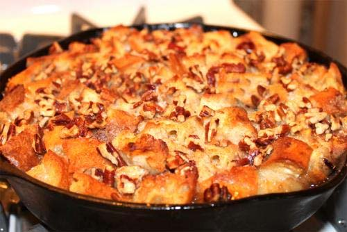 Golden Bread Pudding picture