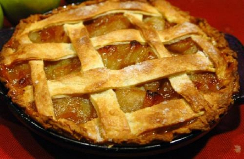 Golden Peach Pie picture