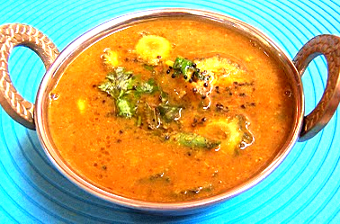 Peanut and Bitter gourd Rassa picture