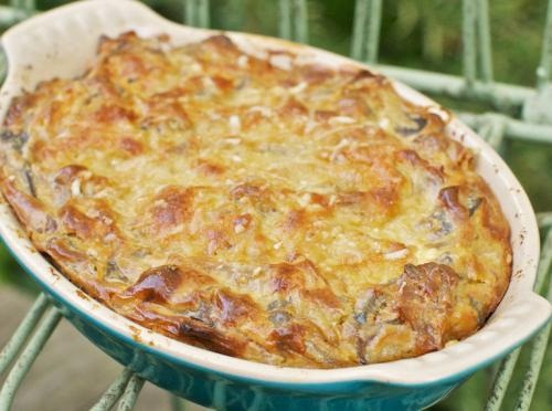 Gratin of Spinach and Veal picture