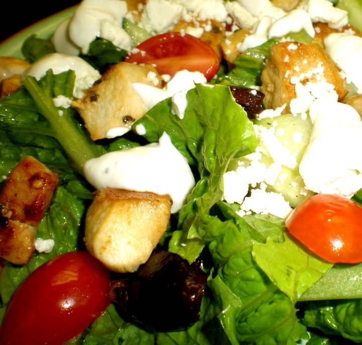 Warm Grecian Chicken Salad picture
