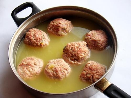 Greek Meatballs with Lemon Sauce picture