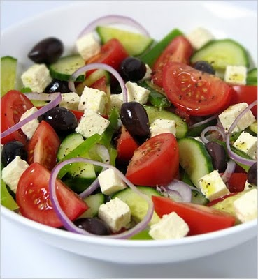 Horiatiki Salata - The Greek Village Salad picture