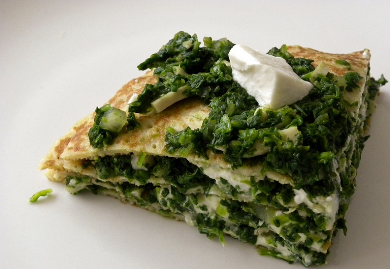 Greek Spinach Pie picture