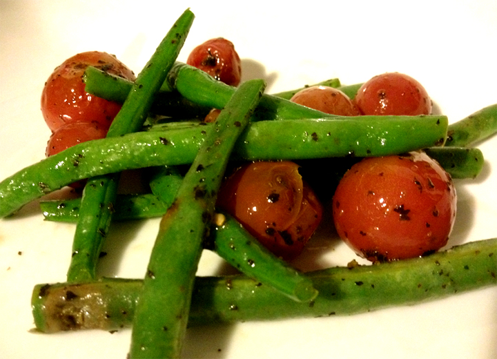 Garlic Green Beans And Tomato picture