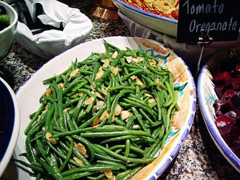 Green Beans With Almonds picture