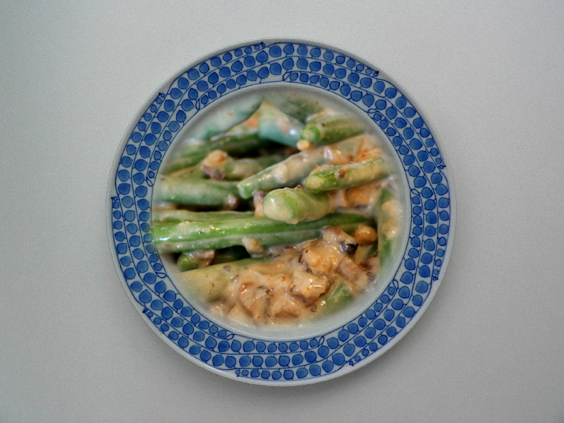 Green Beans In Sour Cream Sauce picture