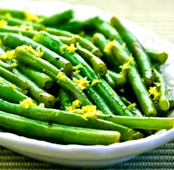 Green Beans With Lemon Rind picture