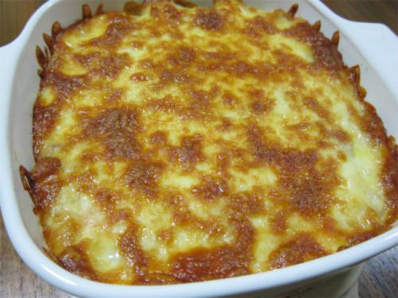 Lentil Cheese Bake picture