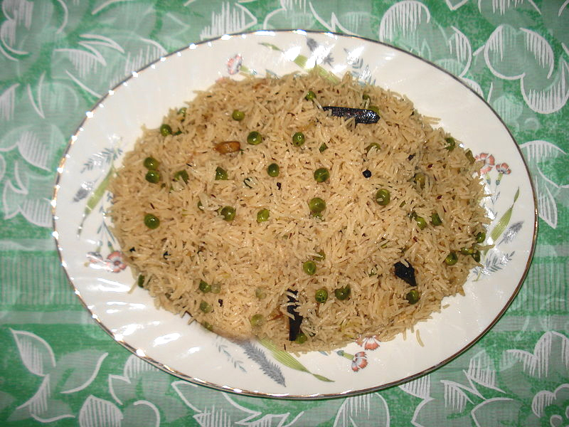 Green Pea Pilaf picture