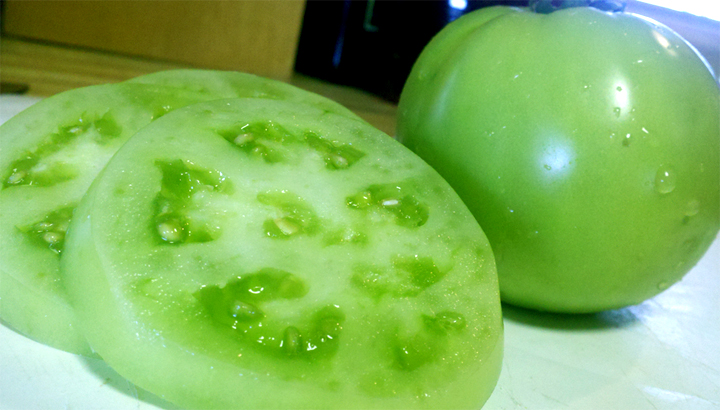 Sauteed Green Tomatoes picture