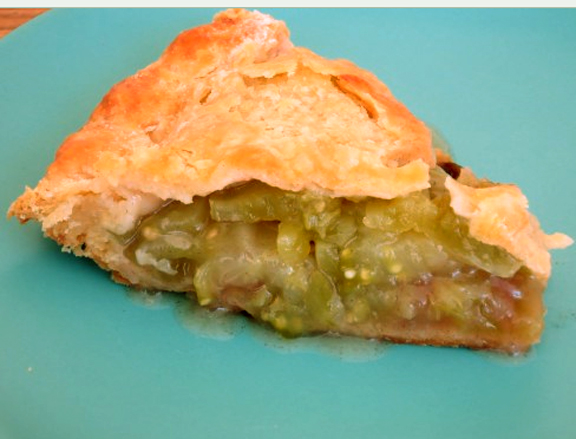 Green Tomato Pie picture