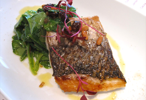 Grey Mullet in Wine picture