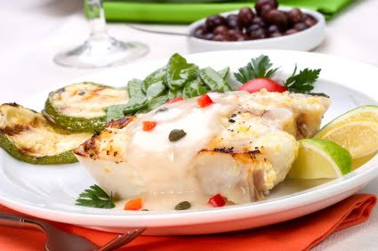Halibut Au Gratin picture
