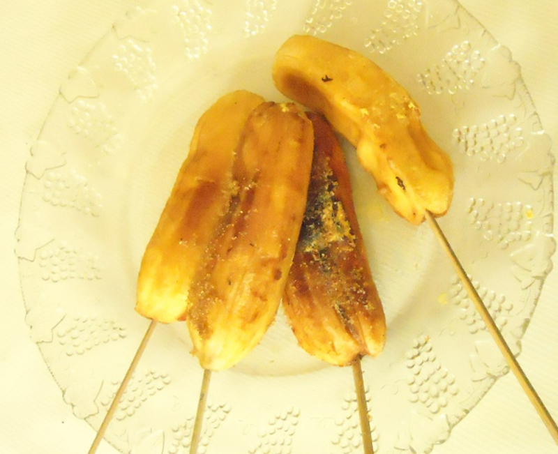 Grilled Bananas picture