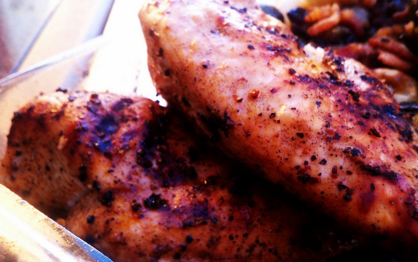 Grilled Chicken with Horseradish Marinade picture