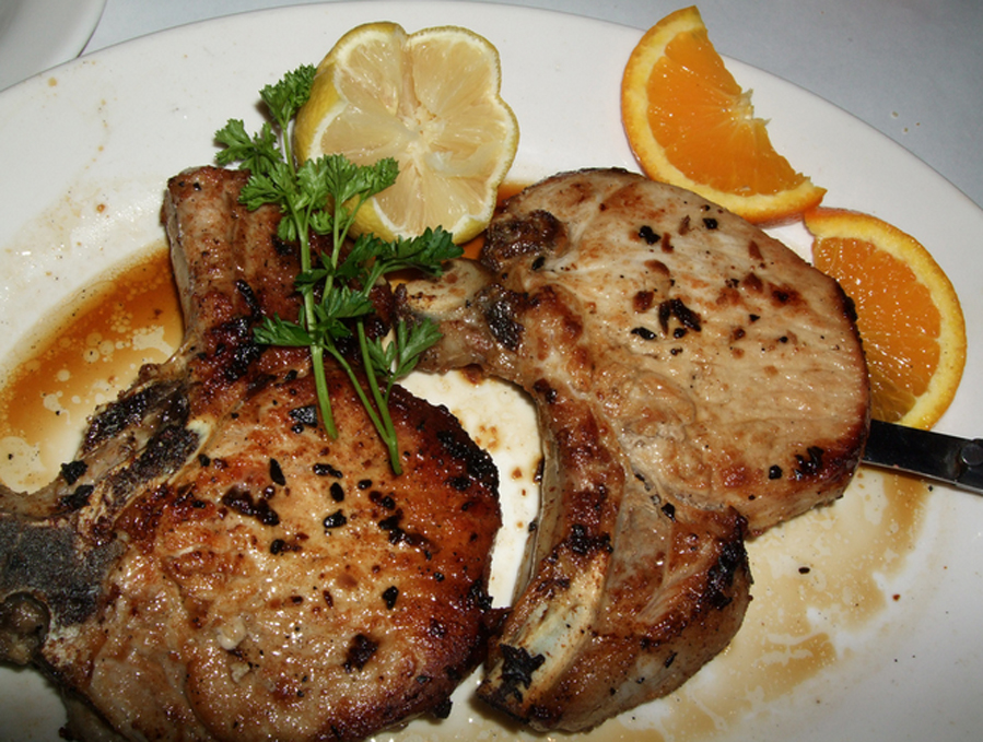 Grilled Pork Chops picture
