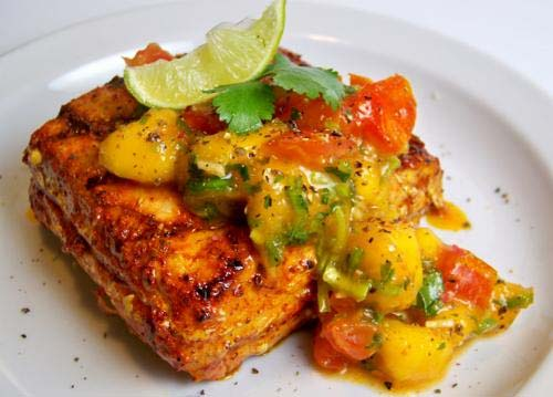 Grilled Salmon Cutlets picture