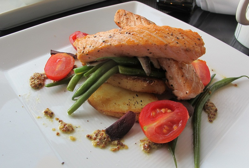 Grilled Salmon Oriental picture