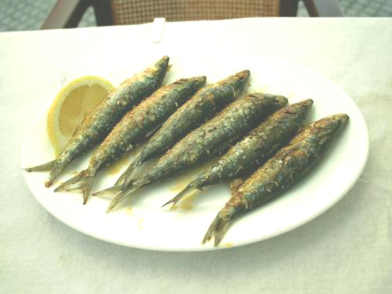 Grilled Sardines In Chilli Oil picture