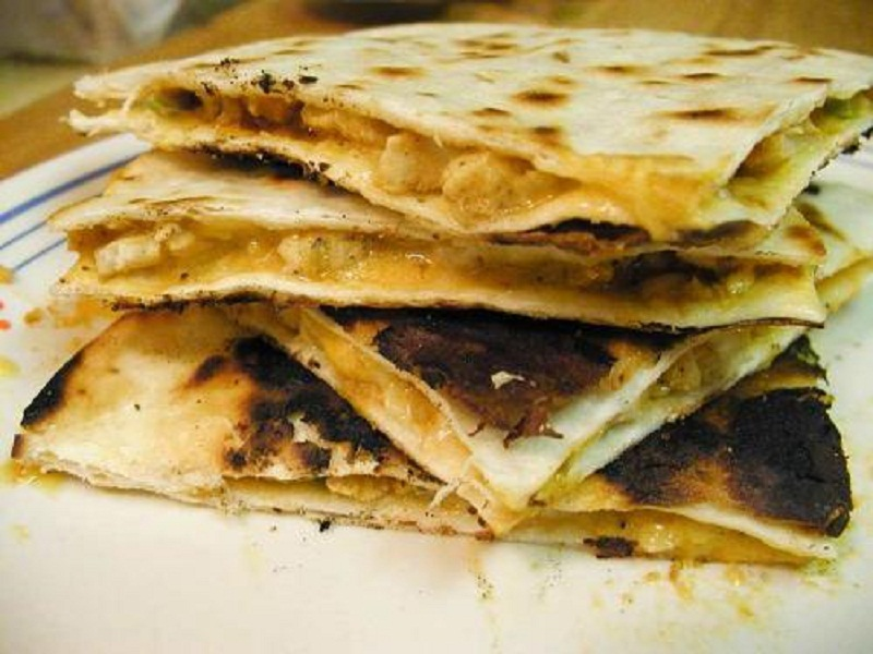 Grilled Squash Quesadillas picture