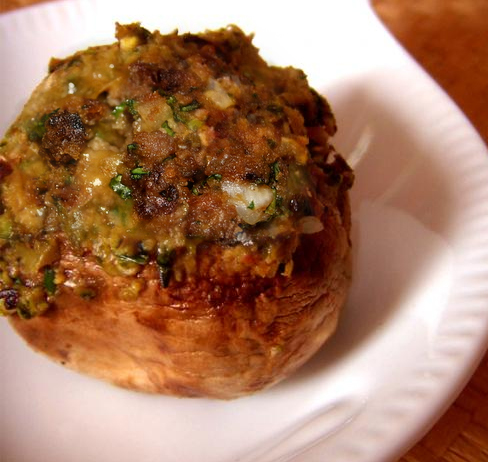 Grilled Stuffed Mushrooms picture