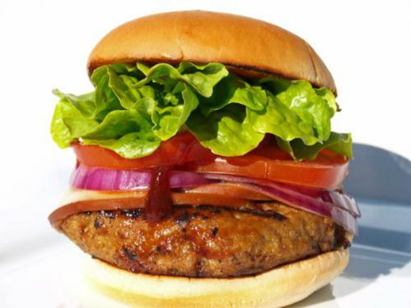 Turkey, Tomato and Tarragon Burgers picture